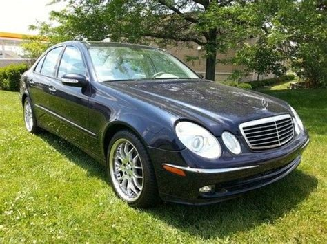 how make cars 2006 mercedes benz e class electronic toll collection sell used 2006 mercedes e500 awd sport in indianapolis indiana united states