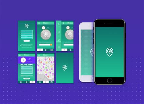 mobile design free readymade mobile app design presentation mockup psd