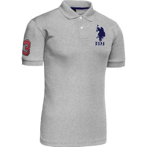 Polo Shirt Mu Dongker 2017 mens polo us polo assn tshirt 2017 design top contrast three sleeve cotton ebay