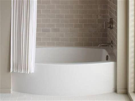 curved bathtub kohler expanse curved apron tub kids bathroom