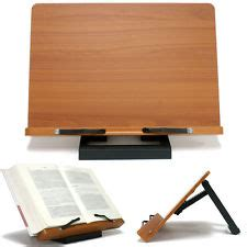 table top reading l book stand portable wooden reading recipe cookbook