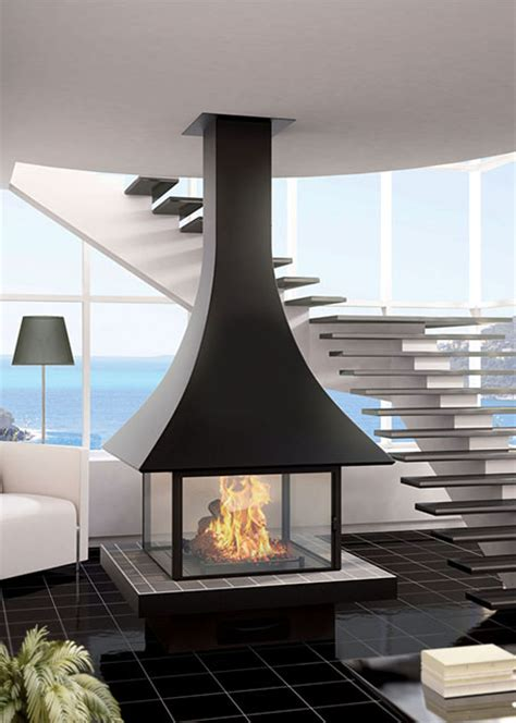Central Fireplace Design by Modern Central Fireplace 985c117ff Julietta 985 Jc Bordelet