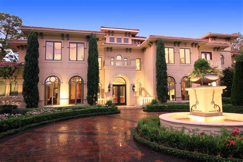 New England Homes Floor Plans by Newly Listed Gated Tuscan Mansion In Houston Tx Homes