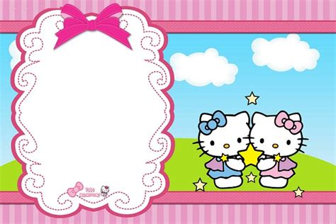 imagenes de kitty para cumpleaños im 225 genes de hello kitty para tarjetitas etiquetas marcos