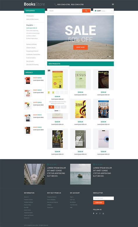 magento html template template 53675 ensegna themes