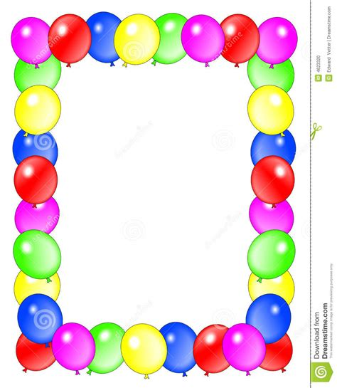 Birthday Border Clipart Clipart Panda Free Clipart Images Free Printable Birthday Borders And Frames