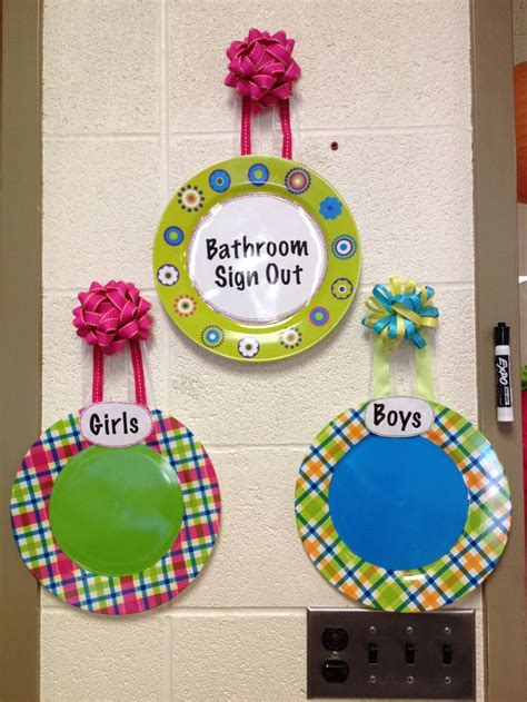 bathroom signs for classroom 17 best ideas about classroom bathroom on pinterest