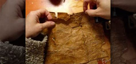 How Do You Make Parchment Paper - how to make paper look 200 years using coffee