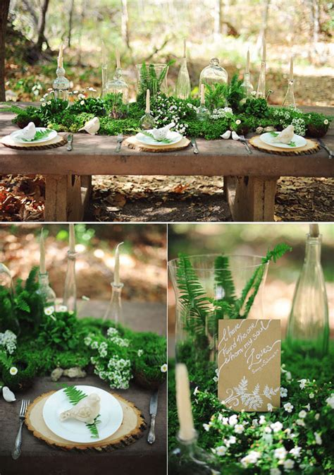 40 stunning woodland forest wedding reception ideas
