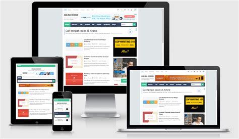 tutorial blogger design download template arlina design premium free tutorial