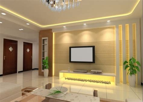 Living Room Design With Led Tv by 18 Best Tv Wall Units With Led Lighting That You Must See