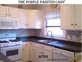 Can You Paint Kitchen Cabinets With Chalk Paint by Kitchen Cabinet Painting The Purple Painted
