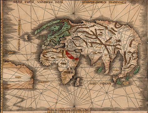 early maps brown library and the brown library