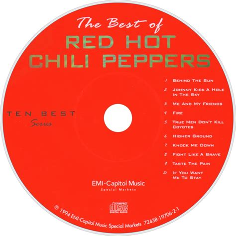 chili peppers best of chili peppers fanart fanart tv