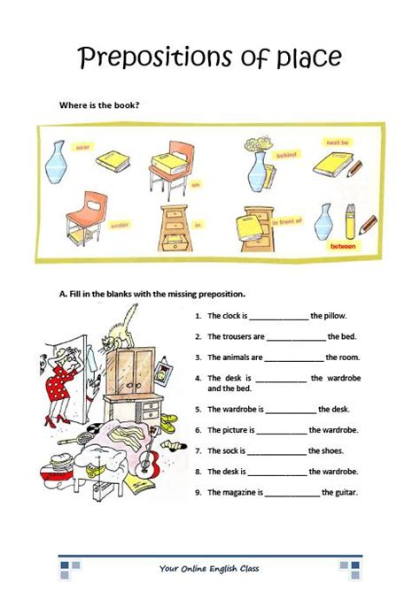 printable english grammar worksheets for beginners free prepositions worksheets coloring pages