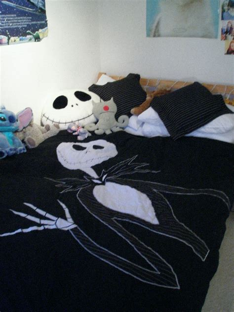 Bedcover Cbaracter skellington bed covers by hypnocus on deviantart