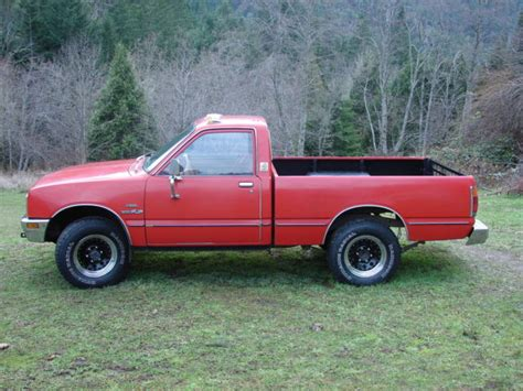 Isuzu Pup For Sale 1981 Diesel Isuzu Pup 4x4 Truck W New Engine