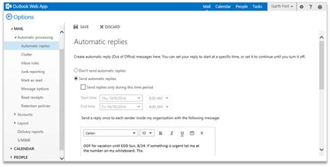outlook web app mobile improving outlook web app options and settings office blogs
