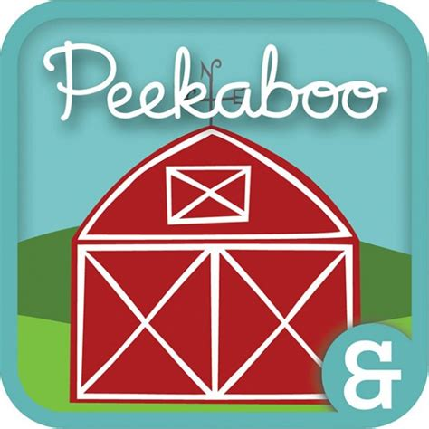 Peekaboo Barn App best iphone and ipod apps for toddlers confessions of a cookbook