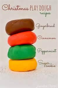 christmas dough recipe diy seasonal scented play dough preschools of arizona