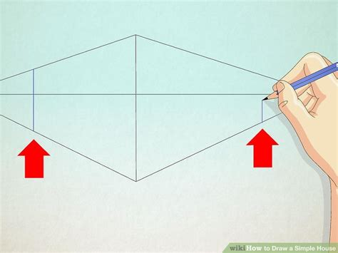 haus malen 3 ways to draw a simple house wikihow
