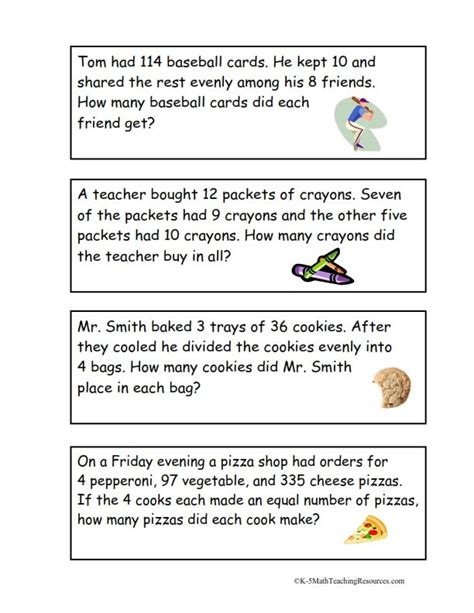 2 step word problems 4th grade worksheets 4 oa 3 multi step word problems free 4th grade