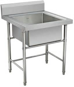 Cing Kitchen Table With Sink Stainless Steel Kitchen Sink Work Table Single Bowl View Kitchen Sink Bench Cosbao Product
