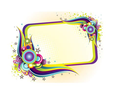 design frame colorful frame design ppt ppt backgrounds templates