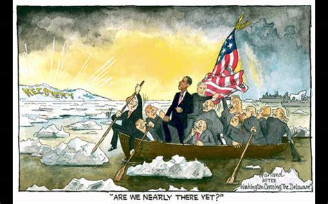 george washington painting boat favorite parodies in art washington crossing the