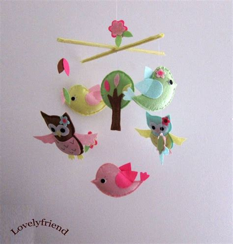Owl Baby Mobiles Crib by Birds And Owls Mobile Baby Mobile Hanging