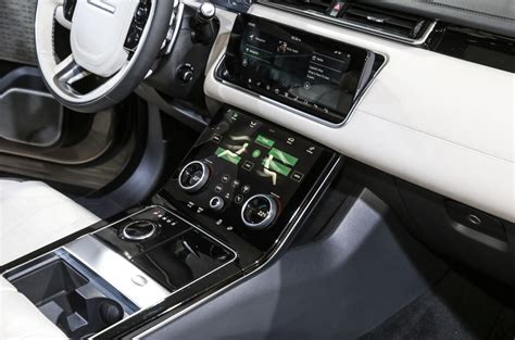 velar land rover interior range rover velar revealed price specs interior autocar