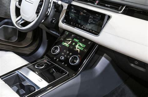 range rover velar inside range rover velar revealed price specs interior autocar