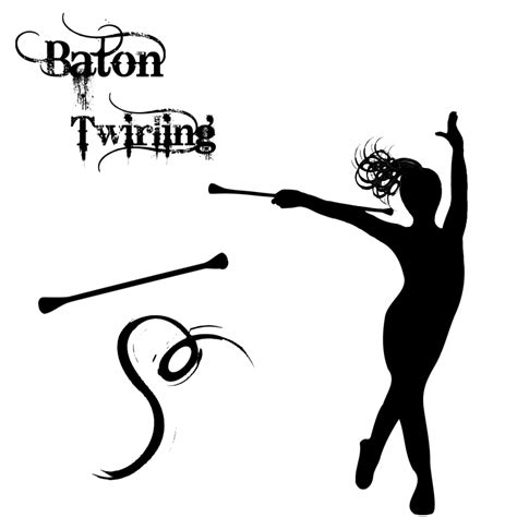 baton images gallery twirling baton clipart