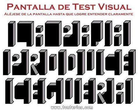 imagenes test visual test visual 1 tonterias com
