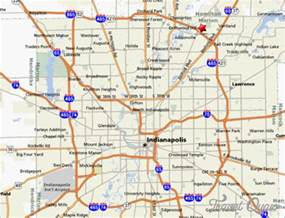 Indianapolis Map Usa by Indianapolis Map Travel Holiday Map Travelquaz Com