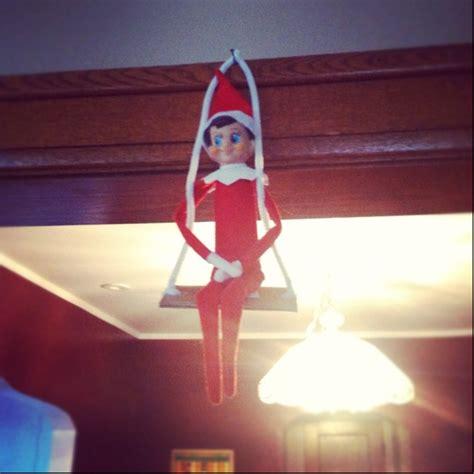 elf on the shelf swing pin by shawna knowles on elf on shelf pinterest