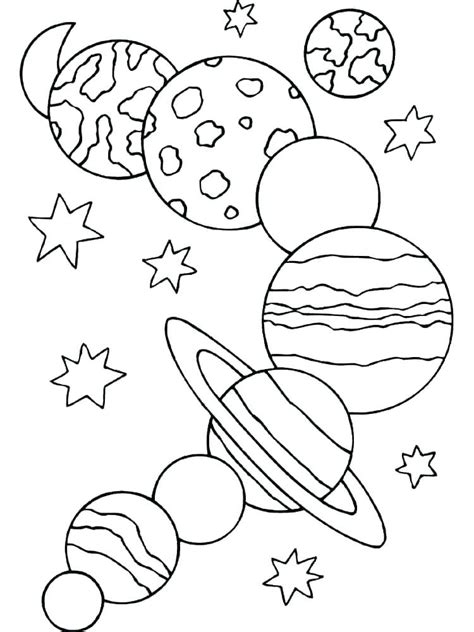 planet coloring pages free printable solar system coloring pages for