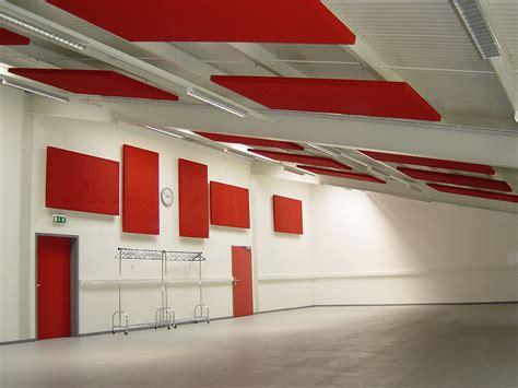 Ceiling Sound Insulation Panels - absopanel sound absorbing panels for walls and ceilings