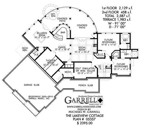 Lakeview Home Plans lakeview cottage house plan house plans by garrell