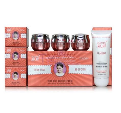 Lixiao Whitening Set 1 jiaobi jiao yan whitening ying 4 in 1 skin care set f2d4 in sets from health on