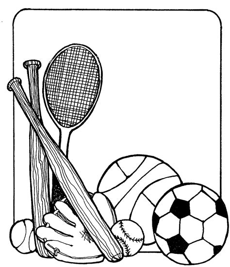 20 fascinating black and white sports clipart black and white many interesting cliparts
