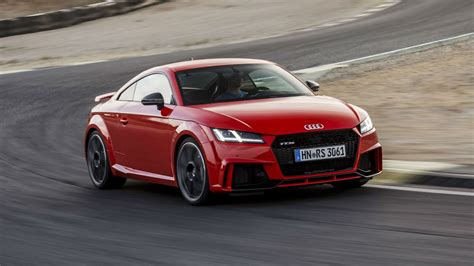 audi r8 and audi tt 2017 audi tt rs review flat out in the junior r8