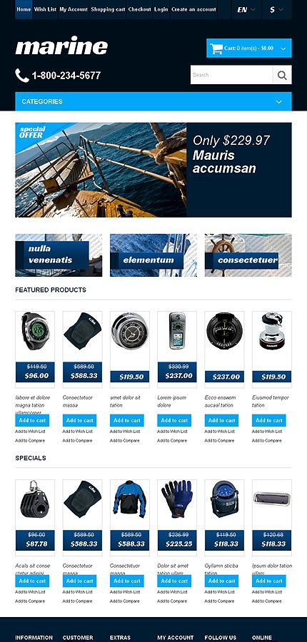 free bootstrap opencart themes free responsive bootstrap opencart template