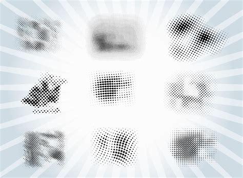 vector pattern brushes halftone brush patterns