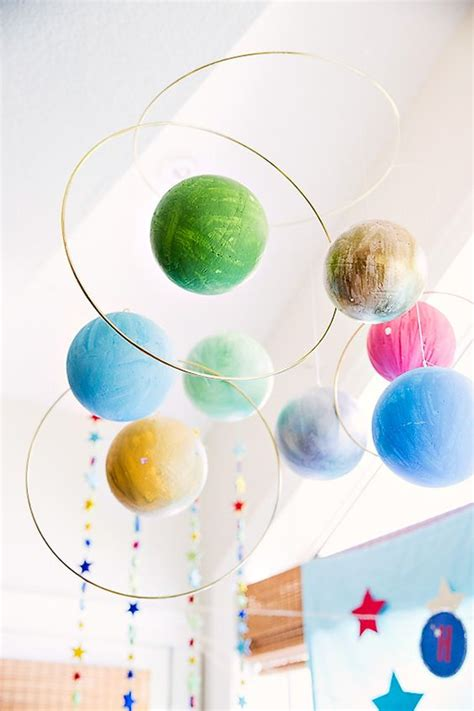 Hanging Planets Decorations hanging decorations solar system and birthdays on