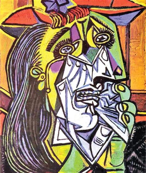picasso paintings weeping cubic mastermind pablo picasso the architect