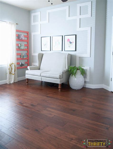 Distressed Hickory Flooring Home Depot - flooring reveal home legend barrett distressed hickory