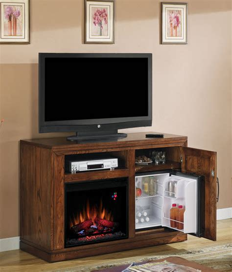 50 electric fireplace 50 75 quot time oak electric fireplace media console