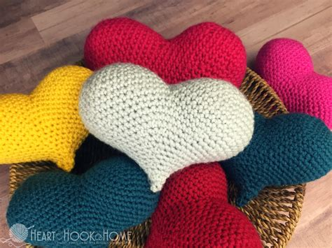 crochet heart pattern free youtube amigurumi love heart free crochet pattern