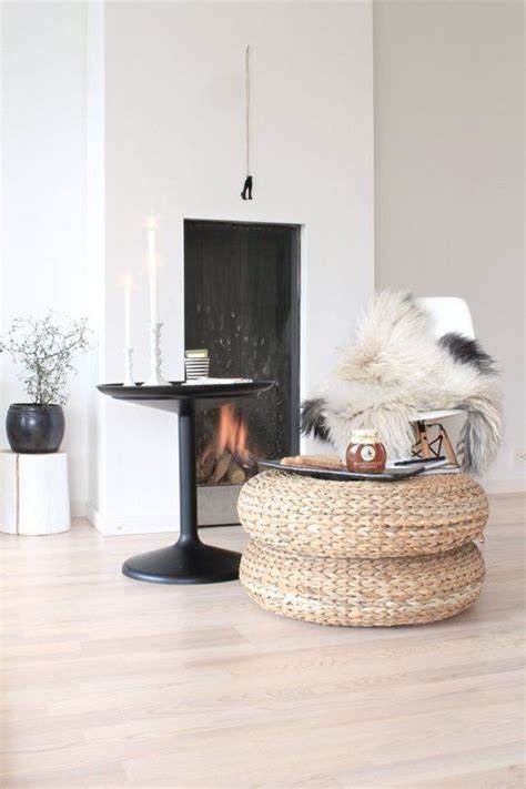 pouf ikea versatile style spotting ikea s woven pouf alseda everywhere fireplaces inspirational and style